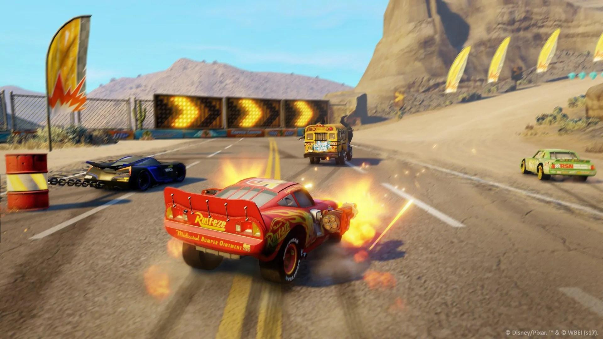 Cars 3: In gara per la vittoria, tutti in pista! 4