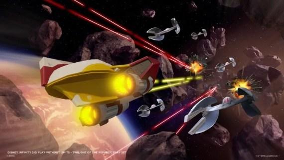 Disney Infinity 3.0: Star Wars Starter Pack (Il Crepuscolo della Repubblica) 2