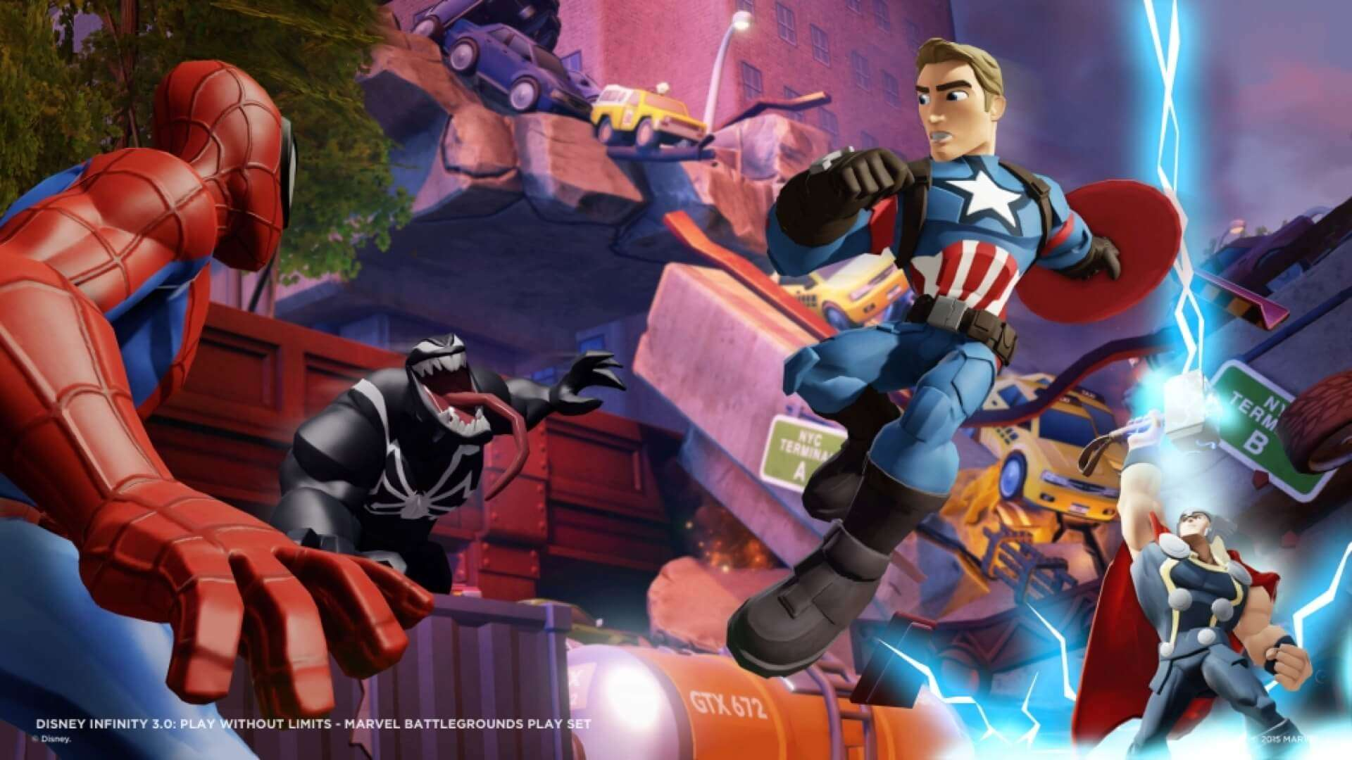 Marvel Battlegrounds: botte da orbi su Disney Infinity 3.0 18