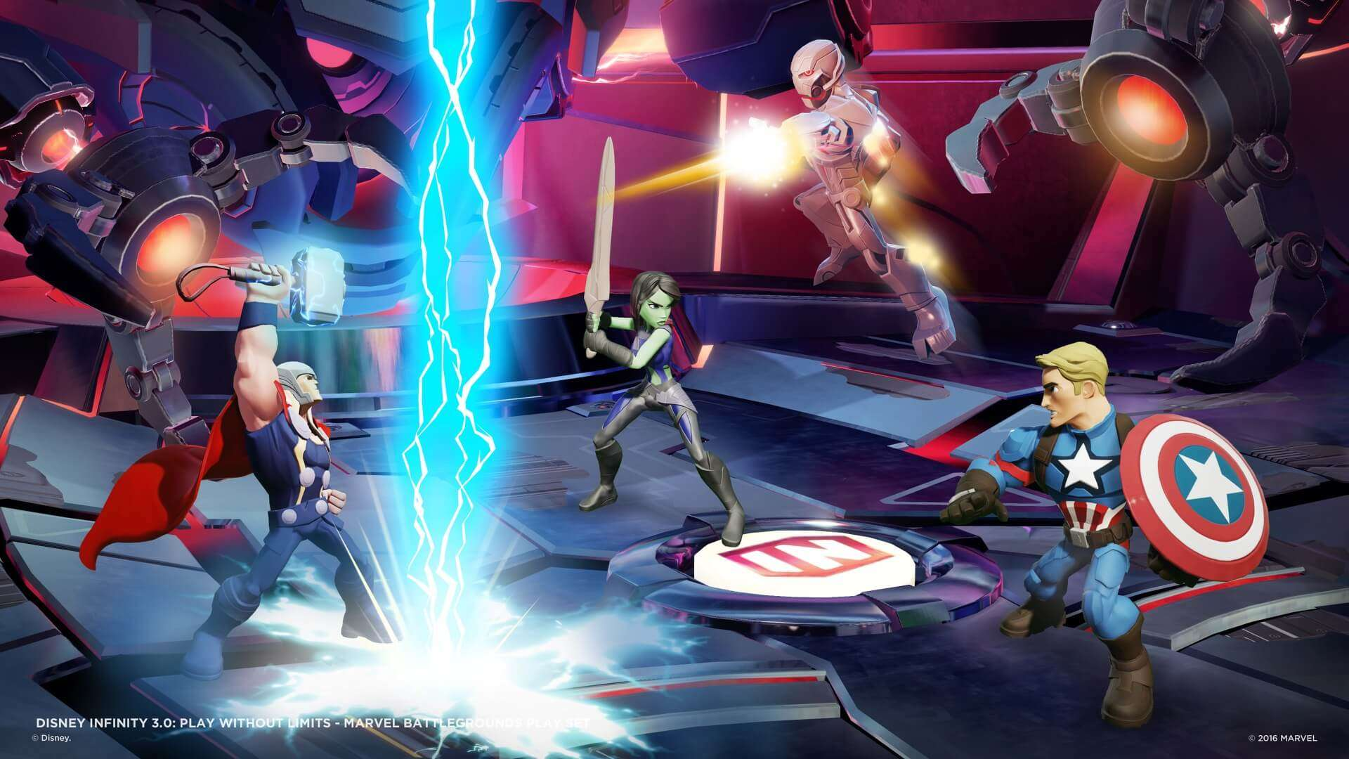 Marvel Battlegrounds: botte da orbi su Disney Infinity 3.0 19