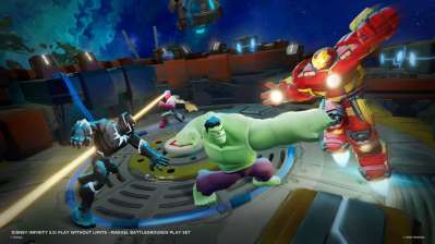 Marvel Battlegrounds: botte da orbi su Disney Infinity 3.0