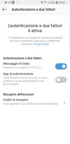 Sicurezza: la nuova 2-step verification di Instagram 1