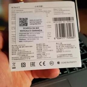 Xiaomi Mi Band 3 2
