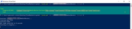 Alla ricerca di possibili file video danneggiati con PowerShell 2