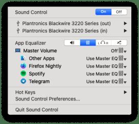Gestire le sorgenti audio su macOS 3