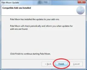 Le estensioni legacy di Firefox non funzionano più su Pale Moon, come rimediare? 9