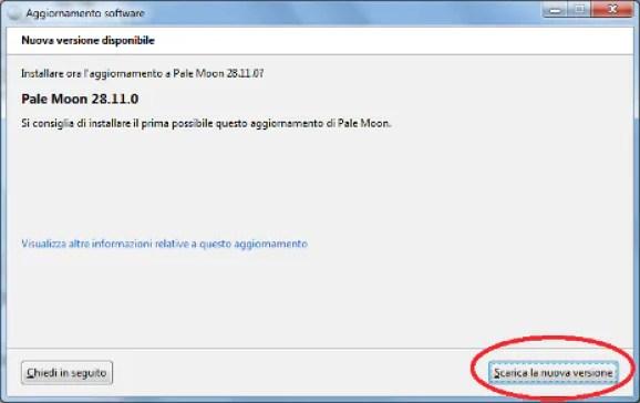 Le estensioni legacy di Firefox non funzionano più su Pale Moon, come rimediare? 1