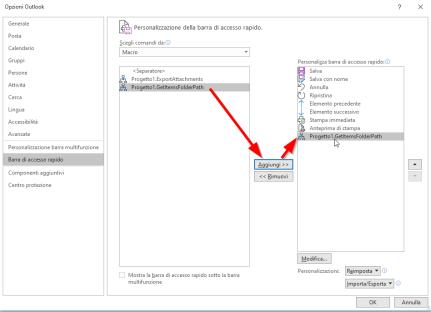 Outlook: in quale cartella si trova questa email? 3