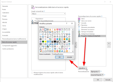 Outlook: in quale cartella si trova questa email? 4