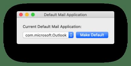 Outlook per Mac: come lo rendo predefinito senza passare da Mail? 2