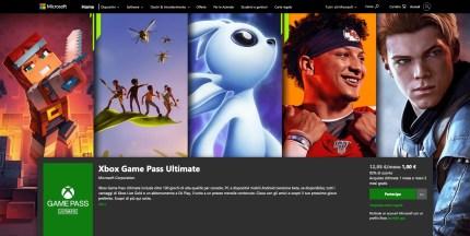 Trasformare il tuo Xbox Live Gold in Pass Ultimate 3