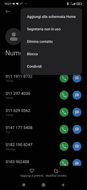 Android: come migrare la lista dei numeri bloccati? 2