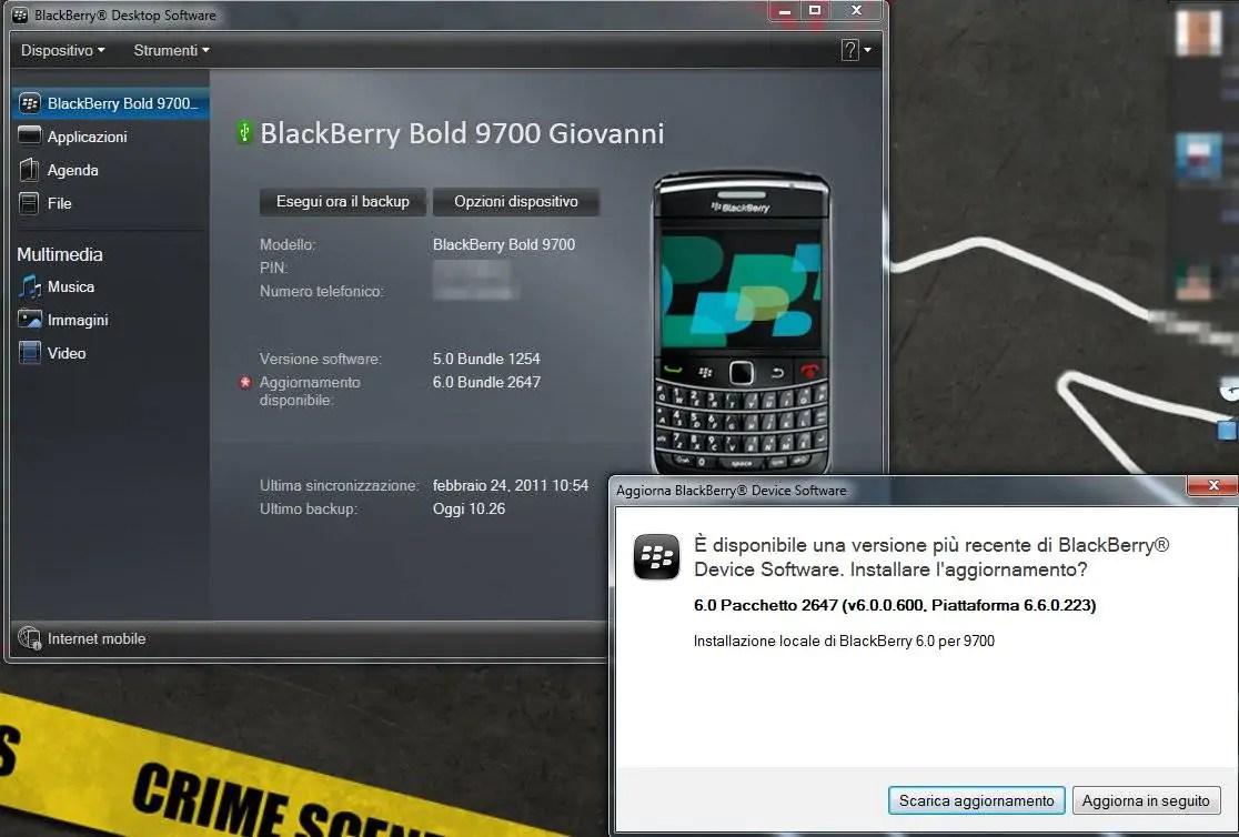 BlackBerry gay sesso app