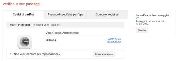 """""""2-step di Sicurezza"""": Migrazione da Google Authenticator ad Authy 3"""