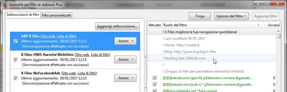 ABP X Files e GitHub: hai aggiornato la tua sottoscrizione? 2