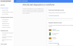 Android: rimuovere il vecchio telefono dall'account Google 3