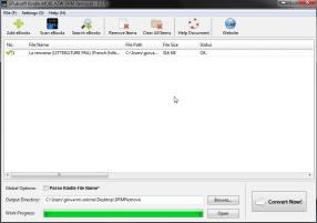 AZW3: rimozione del DRM e trasformazione in PDF 1