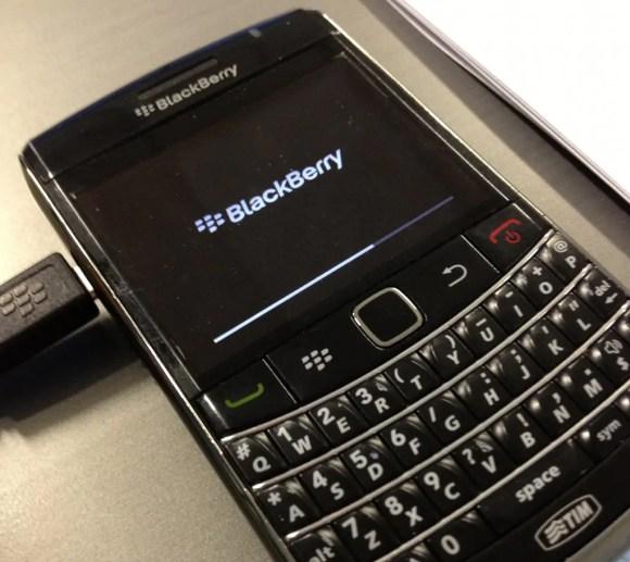 BlackBerry 9700: OS 6 caricato.