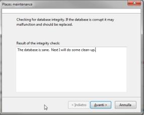 Firefox: ottimizzazione dei DB SQLite 2