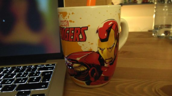 Tazza Avengers Iron Man