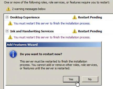 Installare l'utility di Pulizia Disco su Windows 2008 Server 4