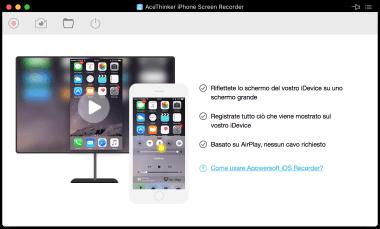 iPhone Screen Recorder di AceThinker 1