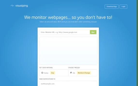 Monitorare le modifiche di una pagina web 1