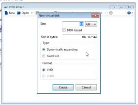Montare un disco VHD con un clic destro del mouse 2