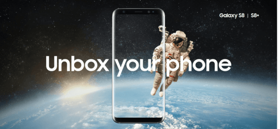 Samsung Galaxy S8: Unbox your phone