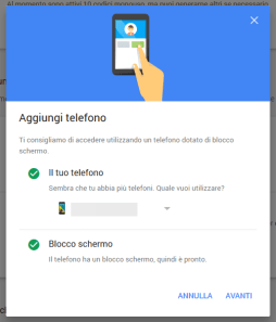 Sicurezza: la nuova 2-step verification di Google 1