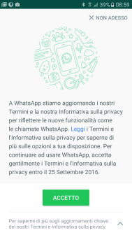 WhatsApp, Facebook e la privacy: condivisione dei dati 1