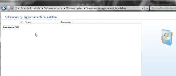 """Windows Update: aggiornamenti """"che mandano in bianco"""""""