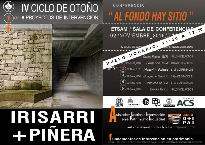 IV CICLO DE OTOÑO. Proyectos de intervención en el patrimonio construido