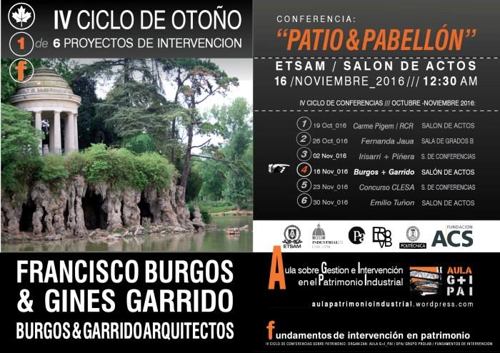Gines&Burgos: Patio&Pabellón