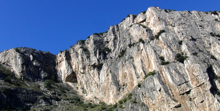 Klettersteigset Verleih Arco : Klettersteig auf den colodri