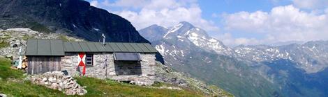 Die Mindener Hütte in den Hohen Tauern