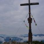 Gipfelkreuz am Österreichischen Schinder (Trausnitzberg) © Gipfelfieber.com