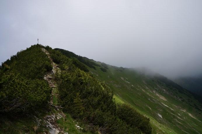 Wolken auf der Ostseite des Hohen Fricken © Gipfelfieber.com