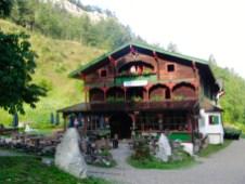 Das Anton-Karg-Haus (oder auch Hinterbärenbad) © Gipfelfieber.com