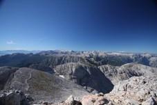 Blick in Richtung des Alpenhauptkamms im Süden © Gipfelfieber.com