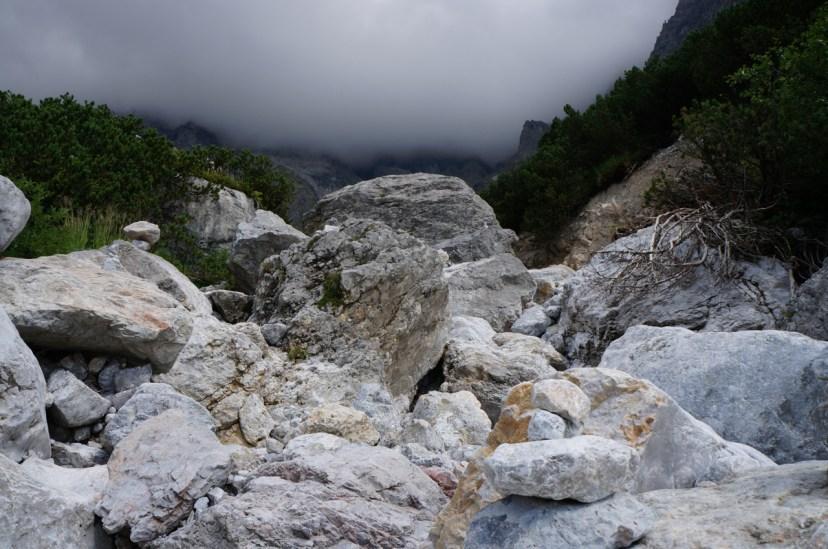 Der Hochkönig verschwindet mehr und mehr in den Wolken © Gipfelfieber.com