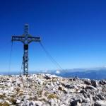 Das südliche Gipfelkreuz vom Hohen Göll © Gipfelfieber.com