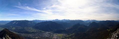 Alpenpanorama vom Gipfel des Hochstaufen © Gipfelfieber.com