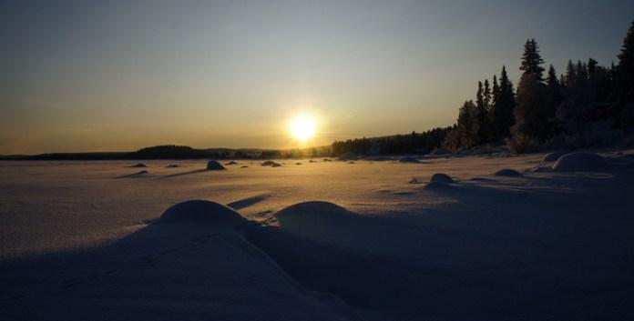 Blogstöckchenen: Sonnenaufgang