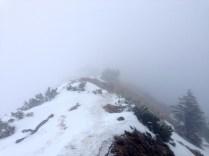 Meist ist der Weg auf dem Grat breit genug © Gipfelfieber.com