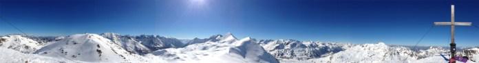 360° Panorama vom Hundskogel © Gipfelfieber.com
