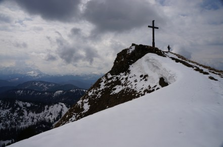 Gipfel des Hochgern