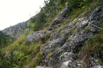 Der Einstieg in den Via dell Amicizia © Gipfelfieber.com