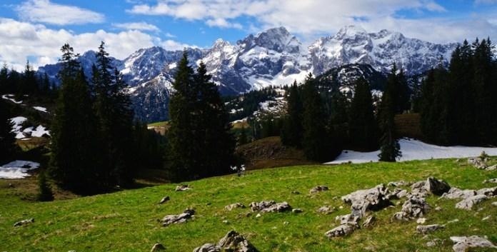 Durch den Matsch auf den Vorderskopf © Gipfelfieber.com