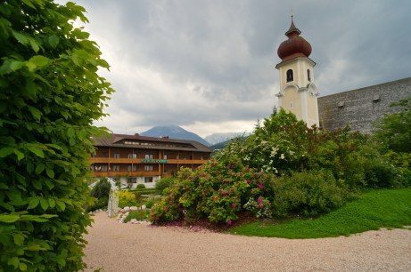 Der Garten in Reiters Posthotel © Gipfelfieber.com